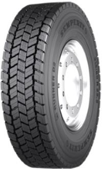Semperit 315/80 R22,5 M+S 3PMSF RUNNER D2  Semperit 150/156L 156/156