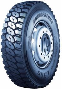 Bridgestone 13 R22,5 M+S 3PMSF L355 EVO  Bridgestone 156/158G 158/158
