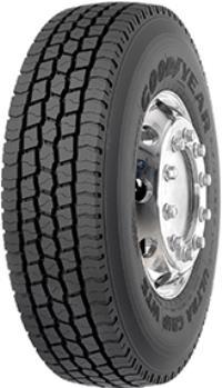 Goodyear 355/50 R22,5  M+S 3PMSF 18PR Ultra Grip WTS  Goodyear 154/K 152 18 PR